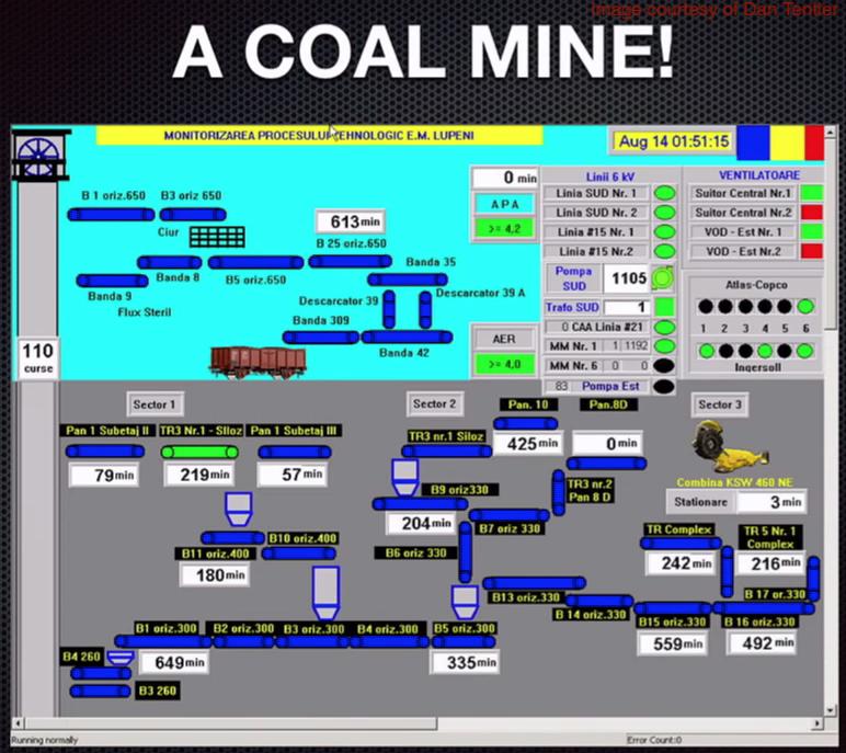 Coal mine screenshot